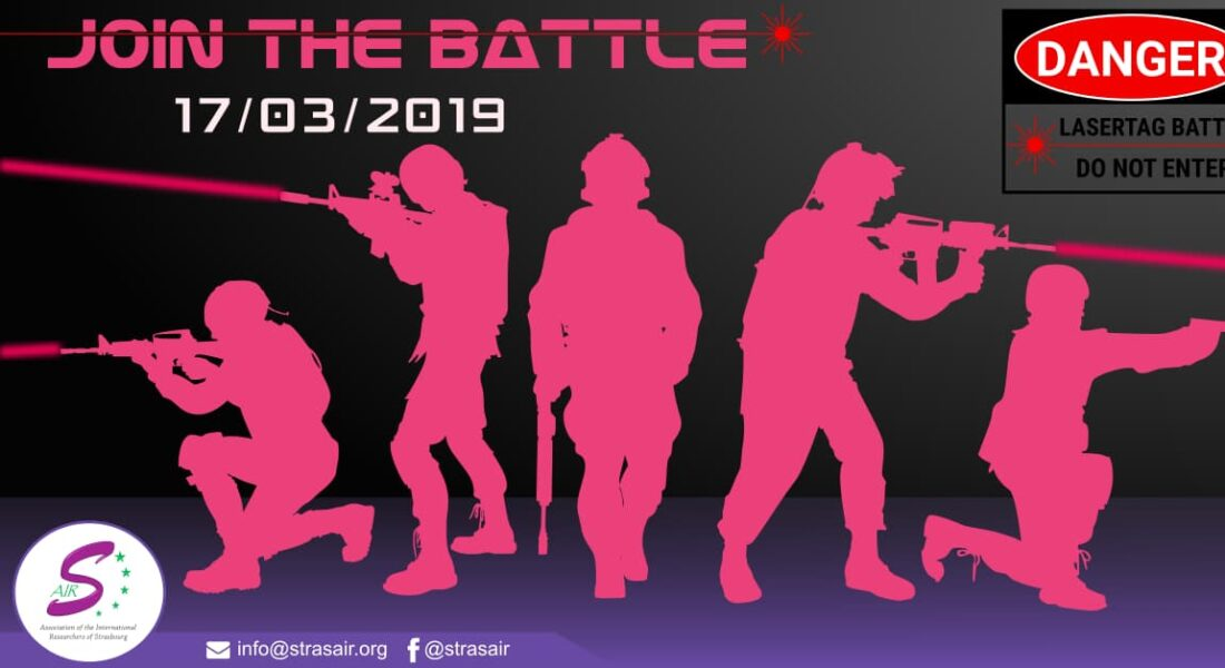 Laser-Tag - March 17th, 2019